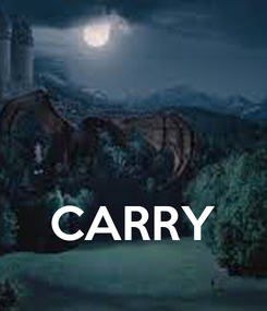 Poster:    CARRY
