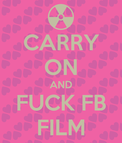 Poster: CARRY ON AND FUCK FB FILM
