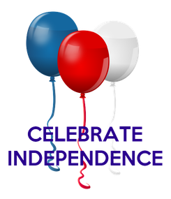 Poster:    CELEBRATE INDEPENDENCE