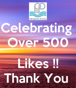 Poster: Celebrating  Over 500  Likes !! Thank You