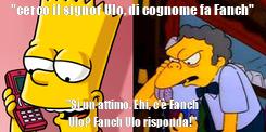 """Poster: """"cerco il signor Ulo, di cognome fa Fanch"""" """"Sì un attimo. Ehi, c'è Fanch Ulo? Fanch Ulo risponda!"""""""