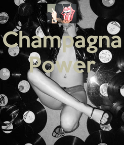 Poster: Champagna Power