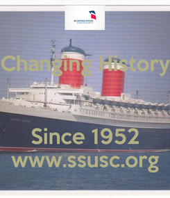 Poster: Changing History   Since 1952 www.ssusc.org