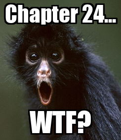 Poster: Chapter 24... WTF?
