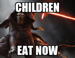 Poster: CHILDREN EAT NOW