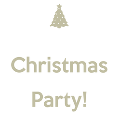 Poster:  Christmas  Party!