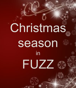 Poster: Christmas season in FUZZ