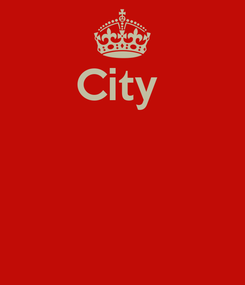 Poster: City