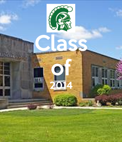 Poster: Class of 2014