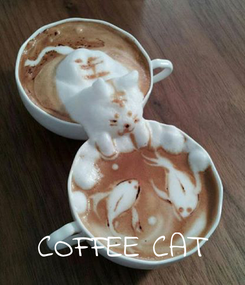 Poster:     COFFEE CAT