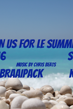Poster: COME JOIN US FOR Le SUMMER SOCIAL 1 JANUARY 2016                          ST ALBANS FARM MUSIC BY CHRIS BEATS ENTRANCE adult R150 incl. BRAAIPACK           kids R60 incl. HOT DOG ROLL Cash bar available                                           gates open @ 10h00