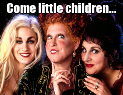 Poster: Come little children...
