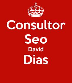 Poster: Consultor Seo David Dias
