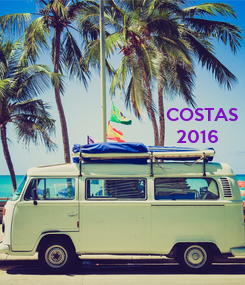 Poster: COSTAS   2016