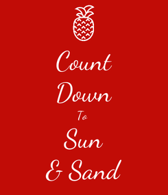 Poster: Count Down To  Sun & Sand