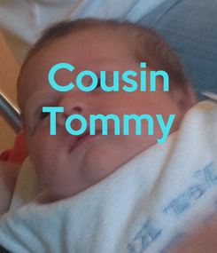 Poster: Cousin Tommy