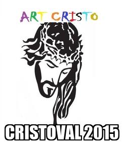 Poster:  CRISTOVAL 2015