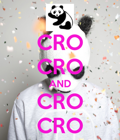 Poster: CRO CRO AND CRO CRO