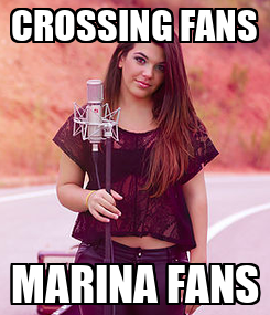 Poster: CROSSING FANS MARINA FANS