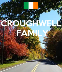 Poster: CROUGHWELL  FAMILY
