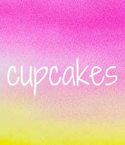 Poster: cupcakes