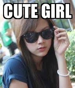 Poster: CUTE GIRL