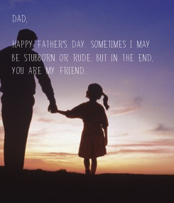 Poster: Dad,