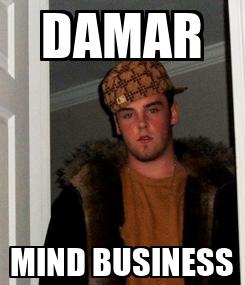Poster: DAMAR MIND BUSINESS