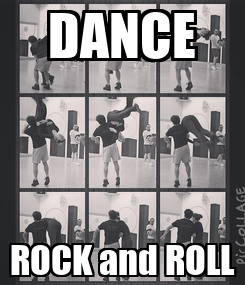 Poster: DANCE ROCK and ROLL
