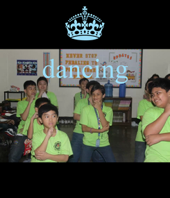 Poster: dancing