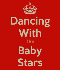 Poster: Dancing With The Baby Stars