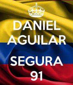 Poster: DANIEL AGUILAR  SEGURA 91