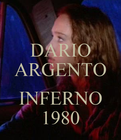 Poster: DARIO ARGENTO   INFERNO 1980