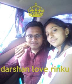 Poster:     darshan love rinku