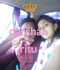 Poster:  darshan  love  ritu