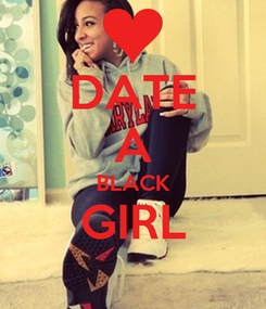 Poster: DATE A BLACK GIRL