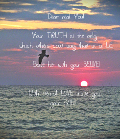 Poster: Dear real You!!