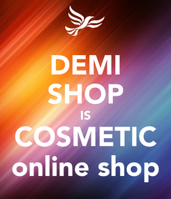 Poster: DEMI SHOP IS COSMETIC online shop