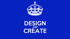 Poster:  DESIGN AND CREATE