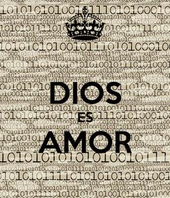 Poster:  DIOS ES AMOR