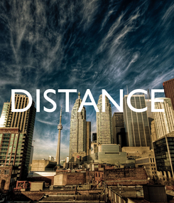 Poster:  DISTANCE
