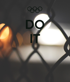 Poster: DO IT