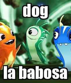 Poster: dog la babosa