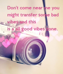 Poster: Don't come near me you 