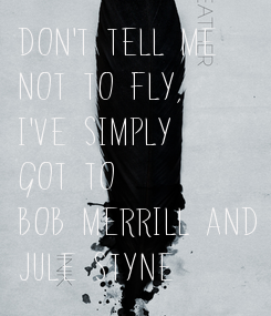 Poster: Don't tell me 