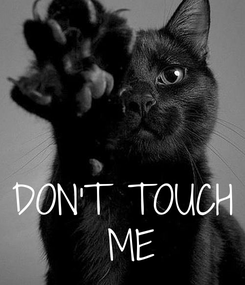 Poster:    DON'T TOUCH  ME