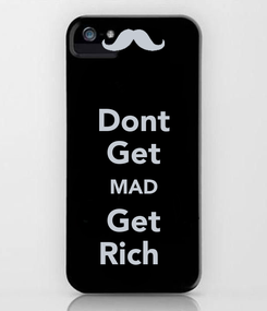 Poster: Dont Get MAD Get Rich