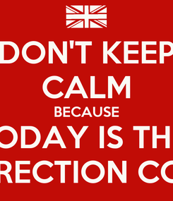 Poster: DON'T KEEP CALM BECAUSE TODAY IS THE  ONE DIRECTION CONCERT