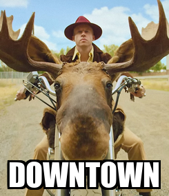 Poster:  DOWNTOWN