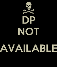 Poster: DP NOT  AVAILABLE